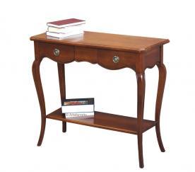 mesa consola, consola rectangular. consola de madera maciza, consola de estilo clásico, Arteferretto