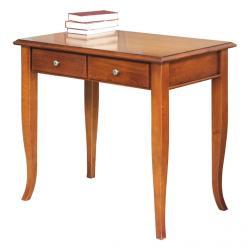 Mesa de despacho pequeña en madera
