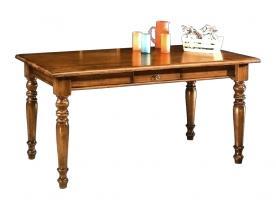 Mesa rectangular fija en madera de estilo clasico