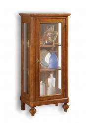vitrina de madera, vitrina arte pobre, mueble vitrina, mueble de madera