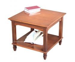 mesa de centro, mesa de centro de madera, mesa de centro por salón, mesita cuadrada, mesa estilo clásico