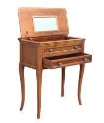 Consola clásica, mueble de recibidor, consola con tapa rebatible, mueble de madera, mueble clásico, Arteferretto