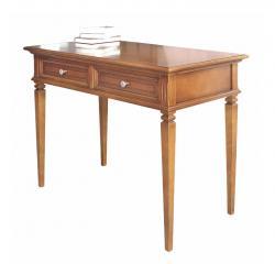 mesa de despacho, mueble de oficina, escritorio incrustado, mesa de despacho estilo clásico