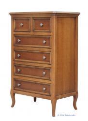 cajonera de estilo, cajonera de madera, mueble de dormitorio, cajonera de dormitorio, mueble artesanal,