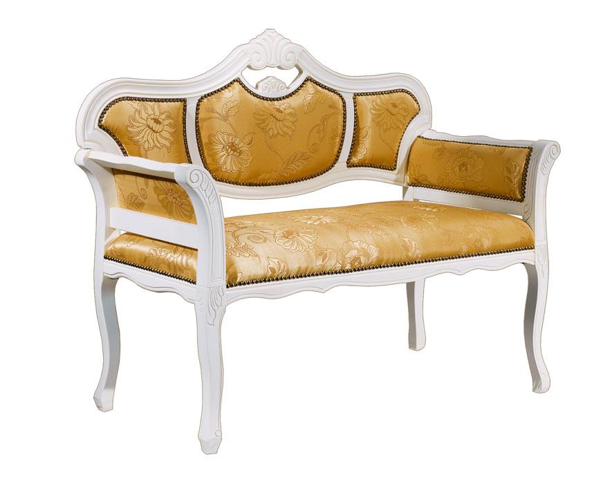Sofa estilo cl sico de haya prixdoo for Sofas estilo clasico