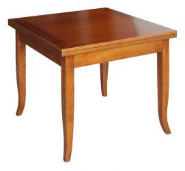 Mesa cuadrada estilo clásico