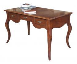 Mesa de despacho pata moldeadas de madera