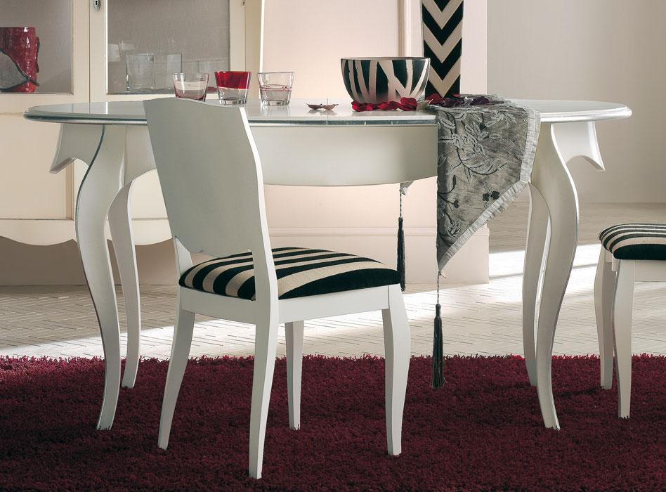 mesa ovalada patas moldeadas extensible 160 200 cm prixdoo. Black Bedroom Furniture Sets. Home Design Ideas
