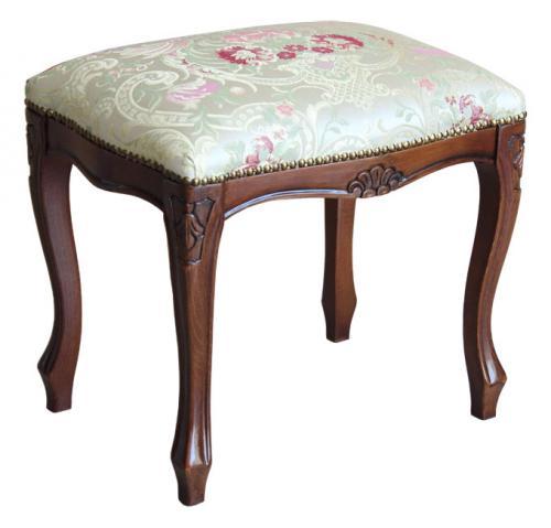 Taburete mueble estilo clásico elegante
