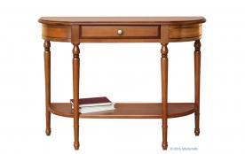 mesa consola ancha, mesa de madera, consola de madera, mesa de recibidor, consola de recibidor, consola de pasillo, consola madera maciza, consola estilo clásico