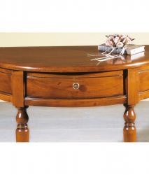 consola medialuna clásica de recibidor, consola de madera, mesa consola medialuna, mesa consola clásica, mueble de recibidor
