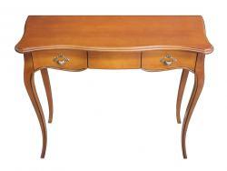 Mesa consola, consola de madera, consola rectangular, mueble de recibidor, Arteferretto, consola clásica