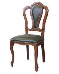 silla de madera, silla respaldo acolchado, silla de comedor, mueble de comedor, silla de haya, silla de salón,