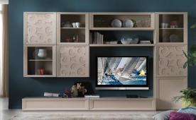 Composición muebles para salón