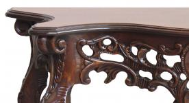 mesa consola clásica, mesa de madera, mesa auxiliar, mesa consola clásica, consola de recibidor