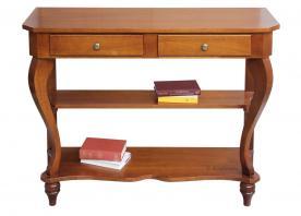 mesa consola de recibidor, mesa consola, mueble de recibidor, consola de madera, consola de estilo clásico, Arteferretto
