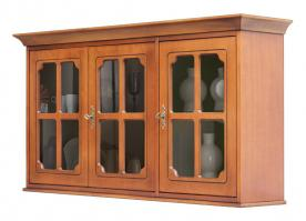 mueble vitrina colgante, mueble vitrina, vitrina clásica, vitrina colgante, mueble Arteferretto