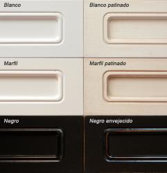 colores lacados, madera lacado
