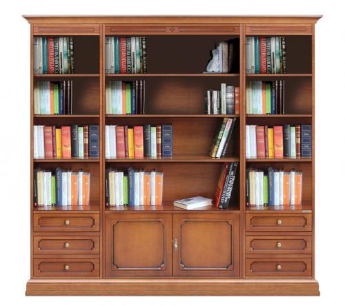 Mueble librería de pared para salón