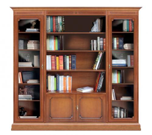 Librería vitrina de pared estilo clásico,