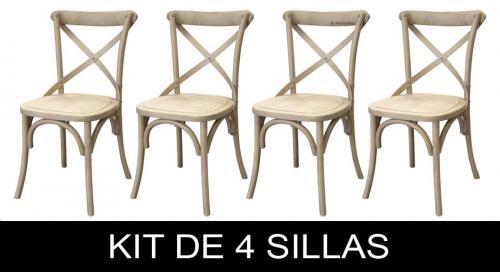 kit de sillas de madera natural, sillas de madera, mueble de madera, silla de comedor, silla en madera, sillas de cocina