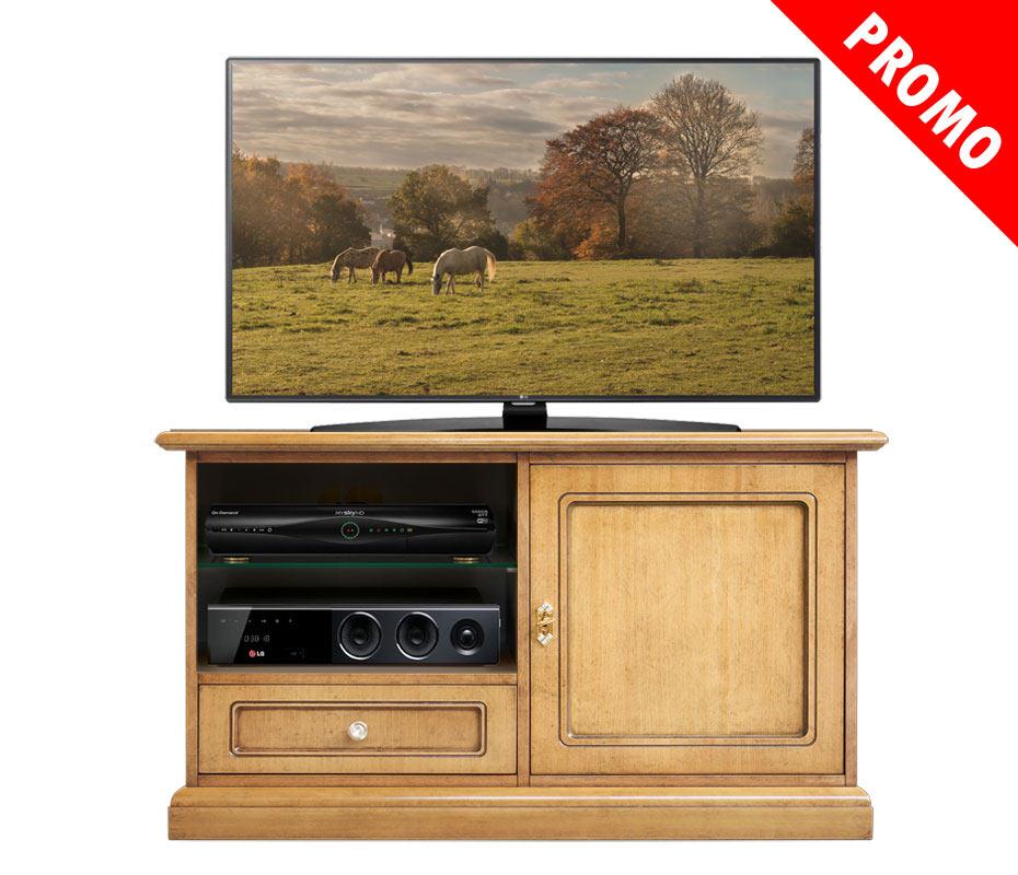 Mueble de tv aparador en madera para sal n promo prixdoo for Muebles para tv en madera