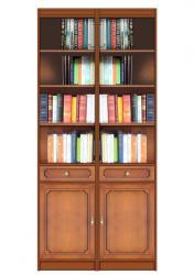 estantería de madera, librería de madera, mueble de madera, librería de saló, Arteferretto, estantería