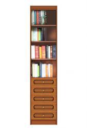 Librería alta con cajones, librería, librería de madera, Arteferretto, estantería, librería de oficina