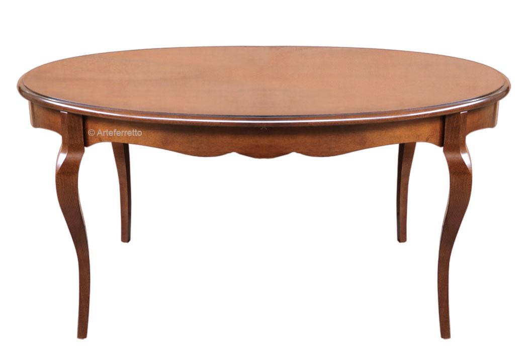 Mesa ovalada de comedor 160-210 cm - Prixdoo