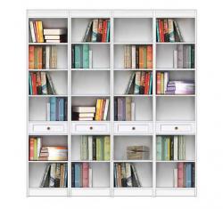 Mueble de pared, estantería