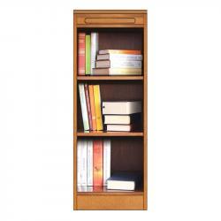 Módulo librería estrecho, librería modular de madera, muebles italianos, arteferretto