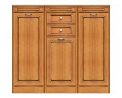 aparador bajo, mueble de comedor, aparador de comedor, aparador clásico, aparador de cocina, aparador de madera, Arteferretto