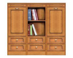 mueble aparador, mueble de cocina, mueble bajo de madera, mueble estilo clásico, Arteferretto, aparador clásico