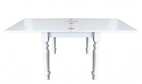 mesa de comedor cuadrada extensible, mesa de madera, mesa de comedor, mesa de estilo clásico