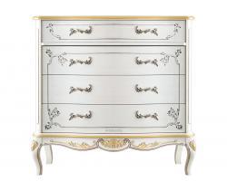 cómoda decorada, mueble artesanal, mueble de dormitorio, cajonera, cómoda de estilo clásico, cómoda 4 cajones