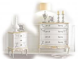 muebles de dormitorio con decoracione en estilo clásico