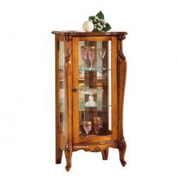 vitrina baja, mueble vitrina, vitrina de comedor, vitrina en estilo clásico, mueble vitrina