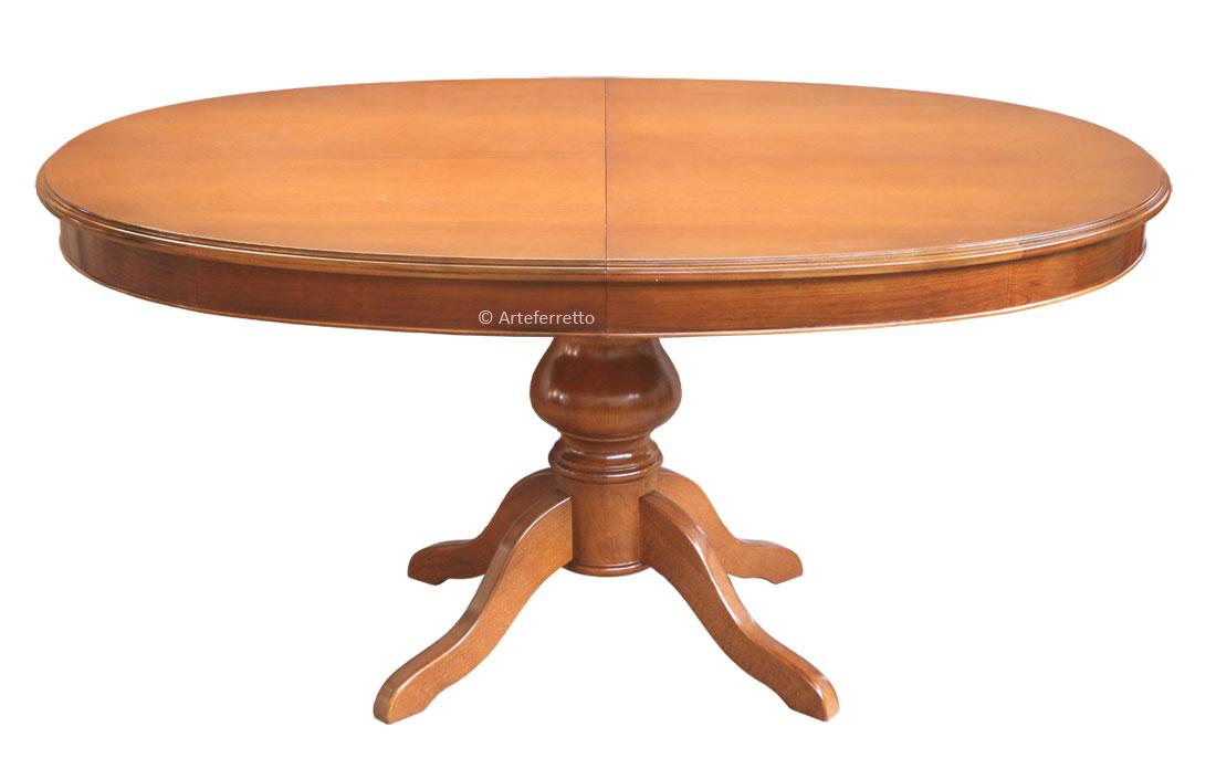 Mesa extensible ovalada 160-250 cm - Prixdoo