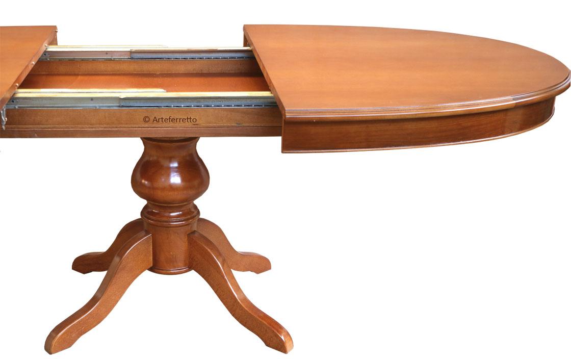 Mesa extensible ovalada 160-250 cm