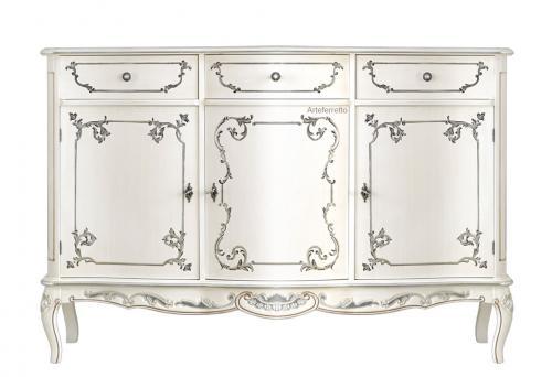 aparador clásico decorado, aparador de madera, aparador estilo clásico, mueble de comedor, apardor diseño italiano