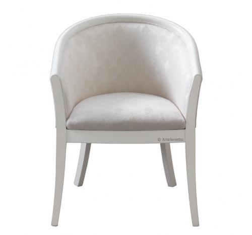 butaca de salón, sillón clásico, sillón en madera de haya, butaca diseño italiano