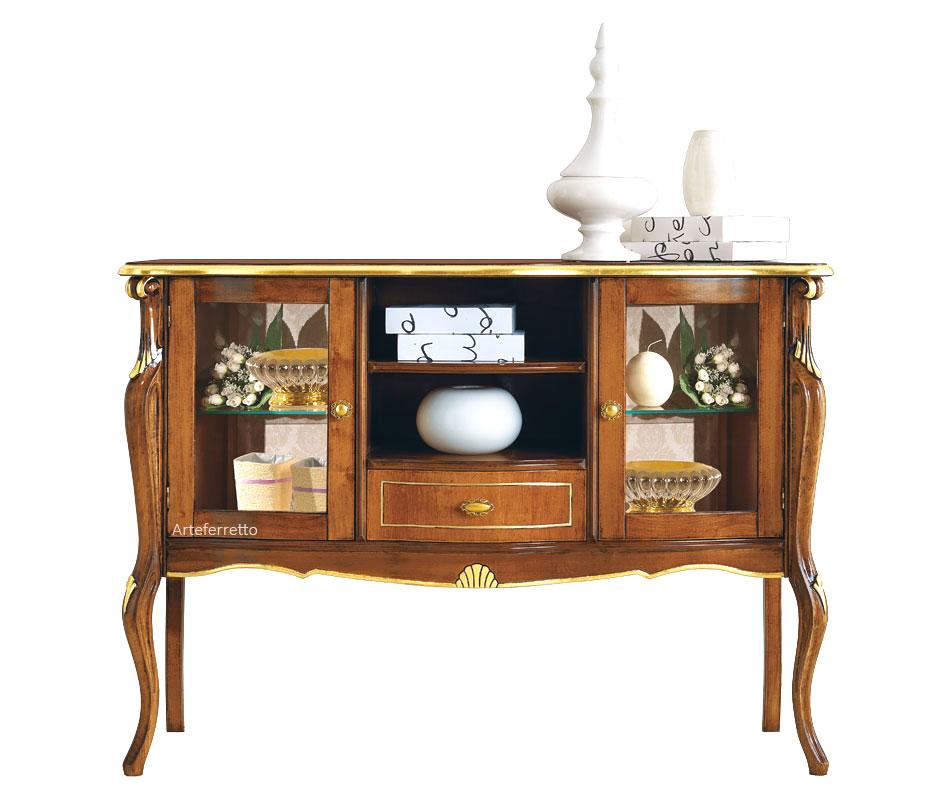 Aparador vitrina de estilo clásico colección \