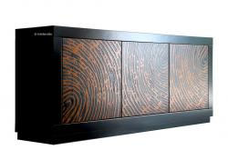 aparador diseño moderno, aparador 3 puertas, aparador de madera