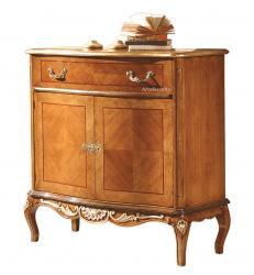 aparador de comedor, mueble de comedor, aparador de madera, aparador con marqueterías, mueble clásico, colección Sensazioni