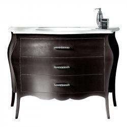 mueble de baño lacado, mueble de baño, mueble de baño en madera, mueble clásico de baño