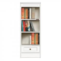 mueble multiuso de madera, librería, mueble de salón, librería por oficina, mueble de madera, colección compos