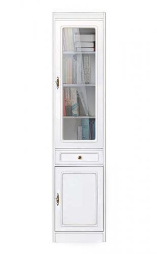 librería vitrina ahorra espacio, mueble vitrina, librería de madera, mueble Arteferretto, vitrina de salón, estantes regulables