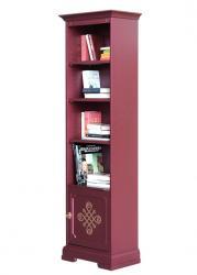 librería alta ahorra espacio, mueble librería