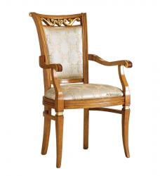 silla de comedor, silla de madera, silla de estilo clásico, mueble de comedor, silla artesanal, silla acolchada