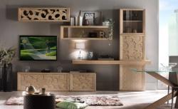 mueble de pared, mueble tv, mueble de salón